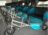 Electric passenger tricycle pedicab