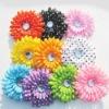 polka dot daisy flowers with clips