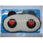 Cute panda eyeshade