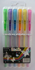 Glitter gel pen 12 colors PP BOX PACKING