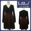long sleeve black lace formal dress 2012