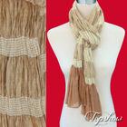 stretch amazing scarves crinkle finished