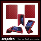 colorful PU case for ipad 2 case