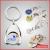 custom coin holder keychain