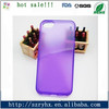 Clear tpu cell phone case for iphone 5