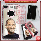 luxury hard case for iphone4, in memory of steve jobs custom print hard case for iphone