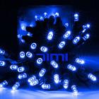 Solar Powered 60 Blue LED Christmas String Fair Lights
