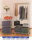 Metal clothes shelf/display shelf/metal rack