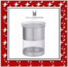 2011 New stainless steel seal jar with lid
