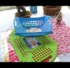 plastic folding fruit basket