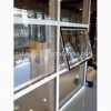 Aluminium profiles for glass