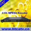 4 in 1 CATV MPEG2 encoder