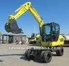 Small wheeled excavator for sale