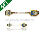 Top Quality 3D Gold and Silver Craft Spoon