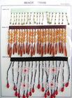 beads curtain lace(LC-DZ014), decoration lace
