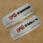 White background,Exterior application,Polyurethane Domed Label