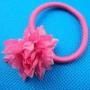fuchsia daisy flower hair holder