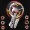 Light up fan, USB Lighting promotional Fan with different lighting modes, Lighting LOGO fans