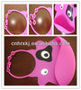 Pink Cow Silicone Baby Bibs