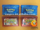 Wholesale video POKEMON games for GBA+FREE PROTECTOR CASE