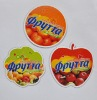 (promotion gifts)eco-friendly friut shape paper fridge magnet