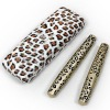Leopard box Transplanting Gel&natural fiber mascara black
