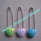 55mm Plastic Fruit Head baby safety pin