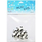 fashion panda glass beads kits
