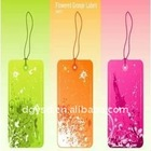 new design PVC label hang tag in low price