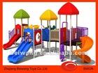 plastic slide children playground hot sale(BW-Y005)