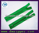 3# Zipper nylon with auto lock slider A/L C/E