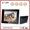 9.7 inch new design Digital Photo Frame with full function