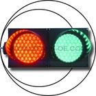 led traffic light SPJD 200-3-2-RG