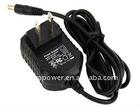 5Vdc500mA 5Vdc800mA 5Vdc1A 12Vdc500mA 6W series AC adapter