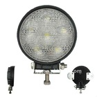 18W Round Multi-Volt High Intensity Led Flood/work Lamp -Cabin/boat/driving truck Light