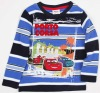 A3296#NBW Nova child wear boy stripe winter printed t shirt