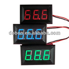 Digital LED blue DC 0-20A Amp Meter For 12v Car auto Boat Solar Built-In Shunt