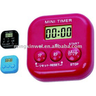 Stop watch with timer and alarm clock for European market