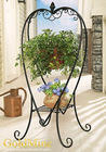 heart hanging plant stand