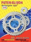 PETER-ELISON motorcycle parts/motorcycle sprocket set/motorcycle sprocket/motorcycle spare parts