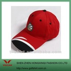 Fashional 6 panels Sports baseball cap with brass buckle