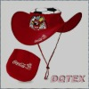 Nylon foldable Cowboy Hat