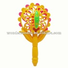 Butterfly baby rattle w/ whistle