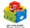 2012 Popular folding playpen, large playpen for babies, plastic playpen