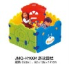 2012 Popular folding playpen, large playpen for babies, plastic playpen