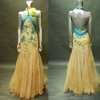 2011 new collection luxury beaded evening dress b-119