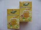 Ginger tea and Tea bag