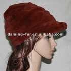 2012 Fashionable Real Rex Rabbit Fur Hat