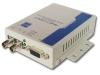 RS-232 serial optic fiber modem