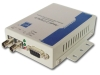 RS-232 serial optic fiber modem